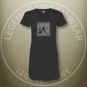LEGENDS-Harriet-Tubman-Womens-Black-Dress-Tee-Front