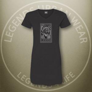 LEGENDS-Sojourner-Truth-Womens-Black-Dress-Tee-Front