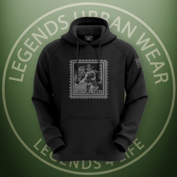LEGENDS-Buffalo-Soldiers-Black-Hoodie-Front