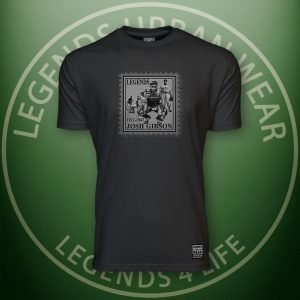 LEGENDS-Gibson-Mens-BLACK-Premium-Tee-Front
