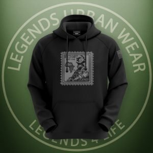 LEGENDS-Marcus-Garvey-Black-Hoodie-Front