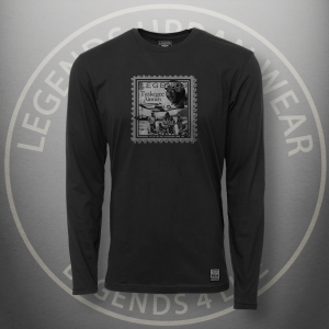 Legends Tuskegee Airmen t Black Long Sleeve Shirt FRONT