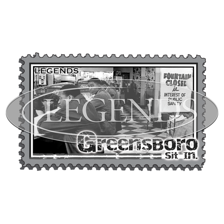 Greensboro Sit In Stamp