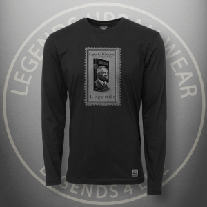 Legends Carter Woodson Black Long Sleeve Shirt FRONT