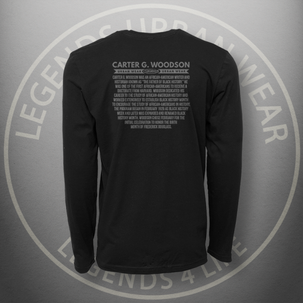 Legends Carter Woodson Long Sleeve Shirt Back