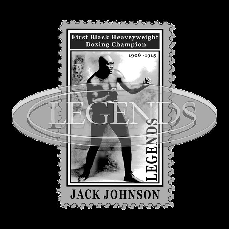 JACK JOHNSON STAMP