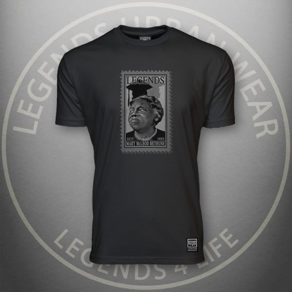 LEGENDS-Bethune-Mens-Black-Premium-Tee-Front