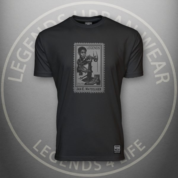 LEGENDS-Jan-Matzeliger-Mens-Black-Premium-Tee-Front