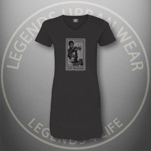 LEGENDS-Jan-Matzeliger-Womens-Black Dress-Tee-Front