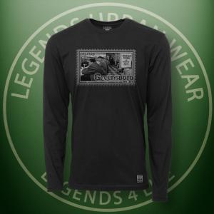 Legends Greensboro Sitin Black Long Sleeve Shirt FRONT