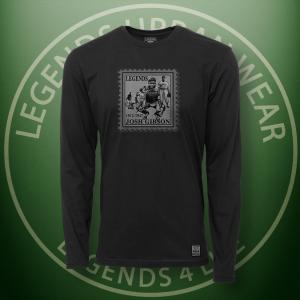 Legends Josh Gibson Black Long Sleeve Shirt FRONT