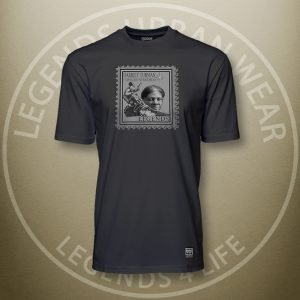 Legends Harriet Tubman Black Super Tee Front