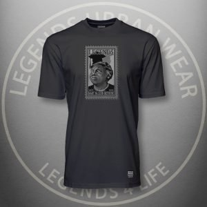 Legends Mary McLeod Bethune Black Super Tee Front