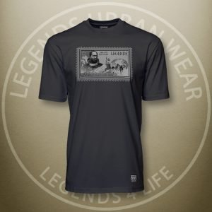 Legends Matthew Henson Black Super Tee Front