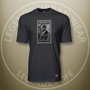 Legends W.E.B. Du Bois Black Super Tee Front