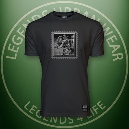 Legends-Buffalo-Soldiers-Men's-Black-Premium-Tee-Front